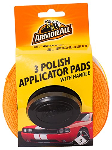 Armor All 3 Polish Applicator Pads with Handle - Best Price