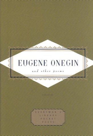 Eugene Onegin and Other Poems (Everyman's Library Pocket Poets)