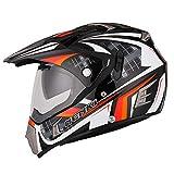 NENKI caschi nk-311Full Face Dual sport caschi ECE approvato con Dual facciale