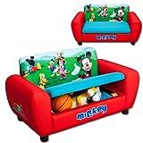 Kindersofa mit Motivauswahl (Mickey Mouse)