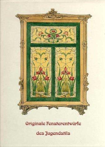 Originale Fensterentwürfe des Jugendstils -