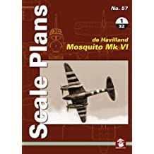Scale Plans No. 57: De Havilland Mosquito Mk VI 1/32