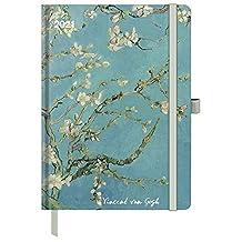van Gogh 2021 - Buchkalender - Taschenkalender - Kunstkalender - 16x22: ArtDiary