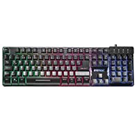 Everest Kb-Gx9, Usb Gökkuşağı Renkli Aydınlatmalı Q Standart Gaming Klavye, Siyah