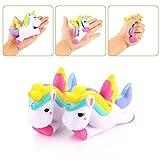 FomCcu 1Pc Stress Relieves Soft Toy 12cm Unicorn Slow Rising Cartoon Doll Squeeze kids Toy