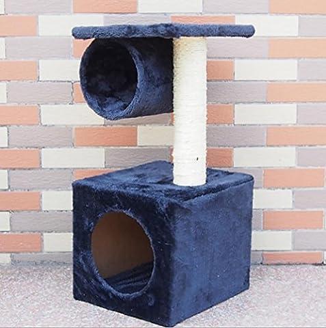 Cat Kitten Centre D'Activités Racloir Climbing Plush Toy Bed ,