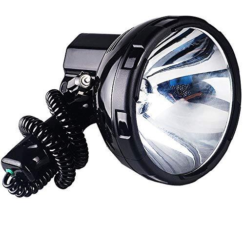 QYYsdt Outdoor-Suchscheinwerfer , Taschenlaternen, Tragbarer Suchscheinwerfer LED-Blendung Langstrecken-1000-M-Multifunktions-Auto-Suchscheinwerfer Externe 12-V-Batterie (Color : 35W)