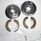 Autoparts-Online Set 60001311 Bremstrommel/Bremsen Kit Hinten