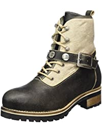 4490, Womens Cold Lined Calf-Length Boots and Ankle Boots Stockerpoint