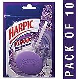 Hygienic Toilet Rim Block, Lavender, 26 g (Pack of 10)