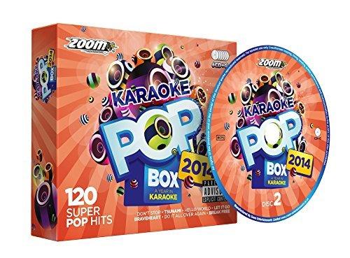 Zoom Karaoke Pop Box 2014: A Year In Karaoke - Party Pack - 6 CD+G Box Set - 120 Songs by Zoom Karaoke