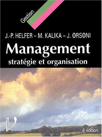 Management : Stratégie et Organisation