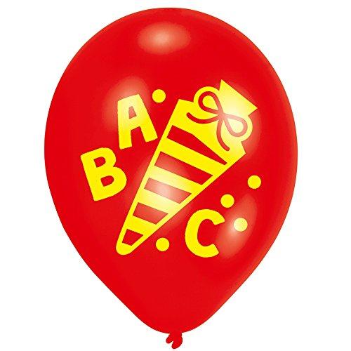 1. Schultag - Dekoset Einschulung - Servietten, Luftballons & Konfetti ABC - 6