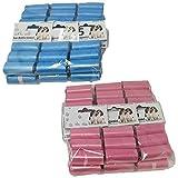 Palucart® 540 Sacchetti igienici Cane in Comodi rotolini Sacchetti Escrementi Cani deiezioni Canine i Colori Possono variare