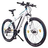 NCM Moscow Plus Bicicletta elettrica Mountainbike, 250W, Batteria 48V 16Ah • 768Wh (Bianco 29')