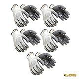 #6: Klaxon Nylon Safety Hand Gloves (Pair 5)