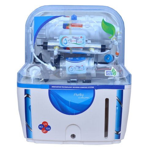 DHANVI aquafresh WATER PURIFER RO+UV+UF+TDS CONTROL 14 STAGE NEW TECHNOLOGY AF03  available at amazon for Rs.4800