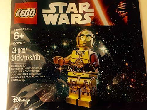 LEGO(R) STAR WARS C-3PO Minifig 2015 Roter linker Arm - The Force ()