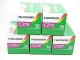 FUJIFILM Lot de 5 Pellicules Fujicolor C200 135/36