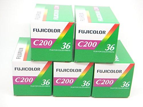 Fuji, C200, 35 mm, 36 Aufnahmen), 5 Stück