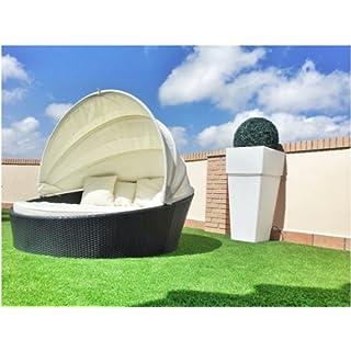 almar garden Bed Lounge Rattan
