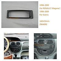 Autostereo 11-092-Kit de marco de instalación de radio de coche para Renault Megane I 1996–2002Scenic 1996