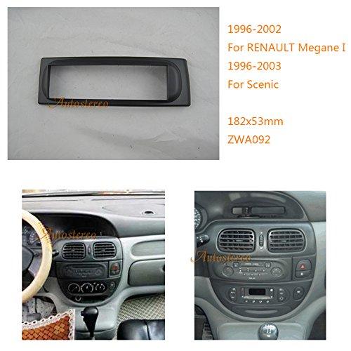 Autostereo 11-092, kit di installazione autoradio per RENAULT Megane Scenic I 1996-2002
