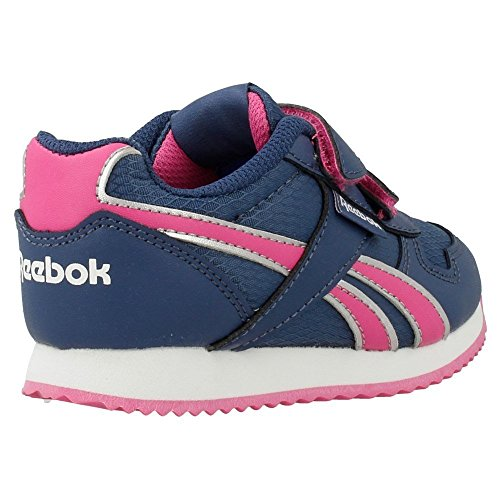 Scarpa Pelle Bambino Reebok Blu marino-Rosa