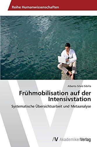 Fr??hmobilisation auf der Intensivstation by Sibilla Alberto Silvio (2015-01-12)
