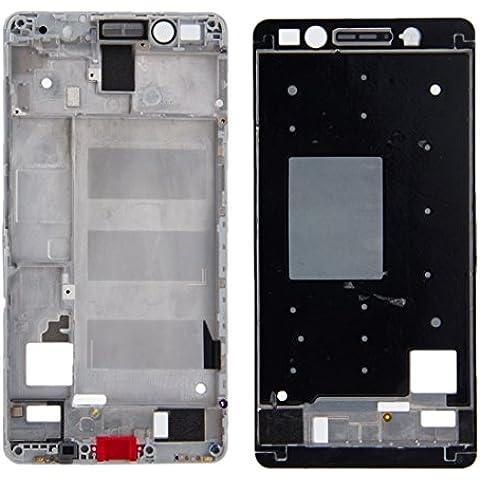 Piezas de repuesto para teléfonos móviles, iPartsBuy frontal de la carcasa del LCD de la placa del bisel del capítulo para Huawei Honor 7 ( Color : Blanco )