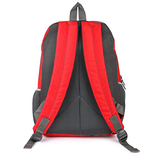 Lutyens Polyester Red Mini Casual Backpack Image 4