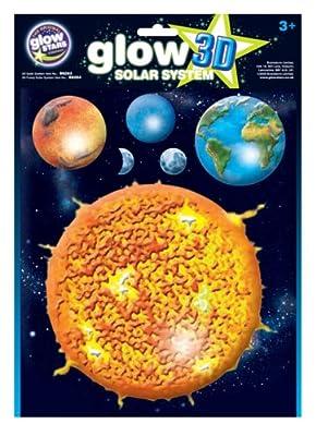 Glow King 1563 - Planetas fluorescentes en 3D (sistema total) por Brainstorm