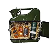 mikamax - JerryCan Whisky Mini Bar - Grün - 5 Liter - Kanister Mobile Whisky Bar - Barschrank