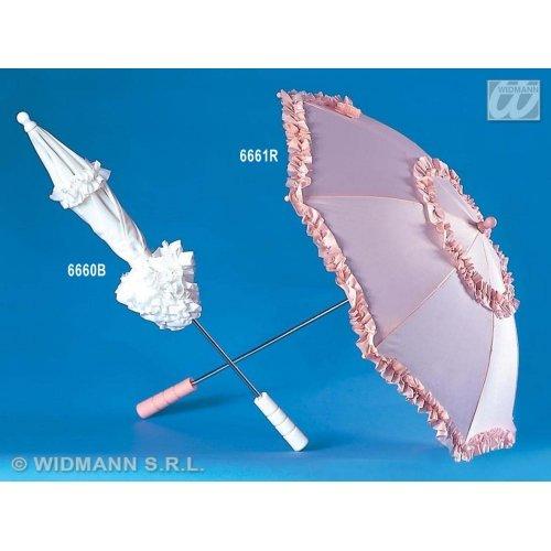 Widmann-WDM6661R Erwachsenenkostüm für Damen, Rosa, WDM6661R (Rosa Regenschirm Kostüm)