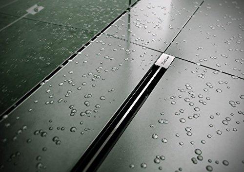 MEGA SLIM Ablaufrinne Duschrinne Länge: 1150 mm, Wasserablaufrinne Duschablauf nicht VIEGA
