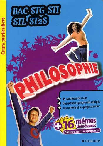 Philosophie Bac STG, STI, STL, ST2S