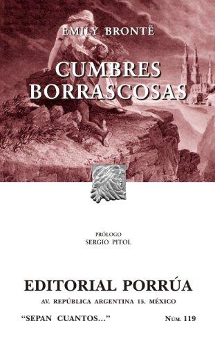 Cumbres borrascosas (Colección Sepan Cuantos: 119)