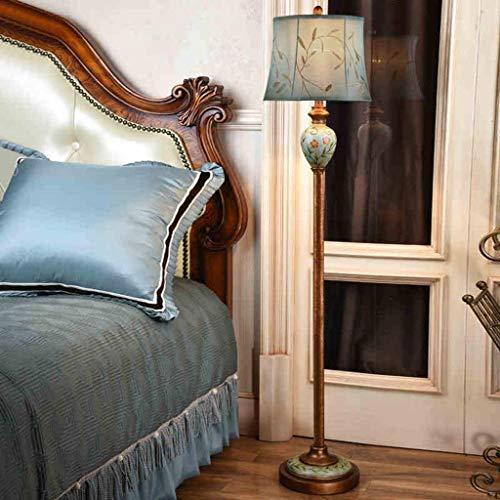 LDD Einfaches Schlafzimmer/Wohnzimmer / Studie mit dekorativen Stehlampe, im europäischen Stil Moderne Kunst Studie vertikale handbemalte Lampe - Handbemalte Mini-lampe