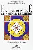 Eglise romane - Chemin de lumière
