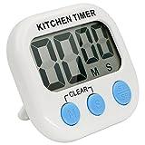 Perché sceglierci?  Facilmente gestito e timer da cucina digitale multi-funzionale.  Bukm timer da cucina digitale è un semplice timer per attività del tempo giornaliere limitate, soprattutto per le questioni di cottura. Non mancherà il vostr...