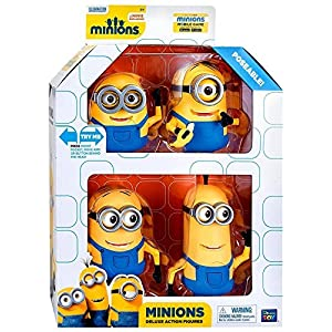 Despicable Me Minions Movie Minions Deluxe Exclusive 5 Action Figure by Despicable Me 7