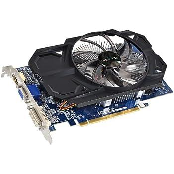 Gigabyte AMD Radeon R7 250 2GB DDR3 Graphics Card(GV-R725OC-2GI/ PCI-E 3 0  /128 bit / D-SUB / Dual-Link DVI-D / HDMI / OC / Single fan)