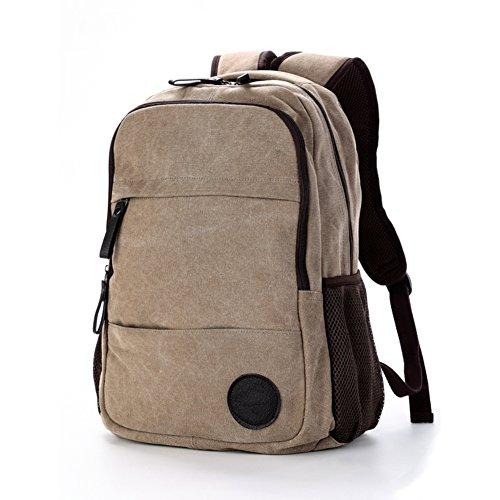 Canvas Rucksack/[Rucksack]/Reisetasche/Freizeittasche/Laptop-Tasche/Schultaschen-A A