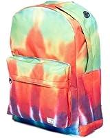 Spiral - Black Tie Dye Backpack - Mens
