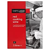 Chefs Larder Red Kochwein 3 Liter