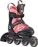K2 Mädchen Inline Skates MARLEE PRO - schwarz-rosa - 30D0222.1.1