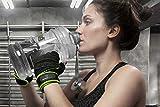 Fitnesshandschuhe »Aphrodite« / Damen Trainingshandschuhe für Workout Gewichtheben Bodybuilding schwarz/pink S - 3