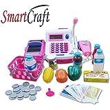 smartcraft Cash Register Banking Pretend Play Electronic Sounds Educational(Multi)