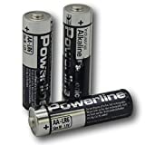 100 Panasonic Powerline AA LR6 MN1500 Alkaline-Batterien