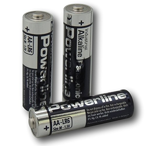 4Panasonic Powerline AA LR6MN1500Batterie Industrial Alkaline Batterien Panasonic Industrial Alkaline
